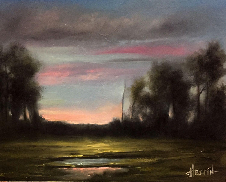 Tonalist Landscape Oil Painting Forever Original 11x14 On Textured Panel Painting Oil Painting Landscape Canvas Painting