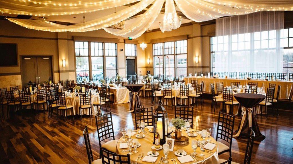 Wedding reception hall at Columbus Ohio wedding venue NorthPointe