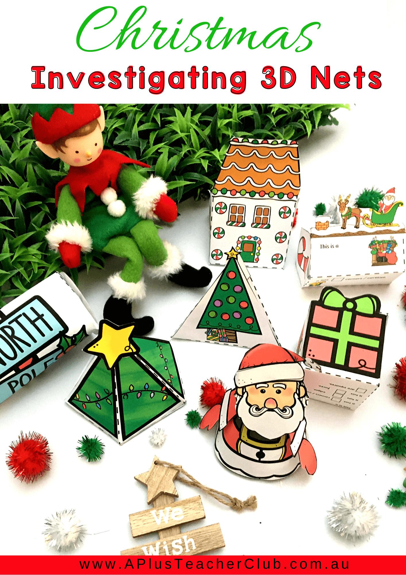 Christmas Math Printables For Kids