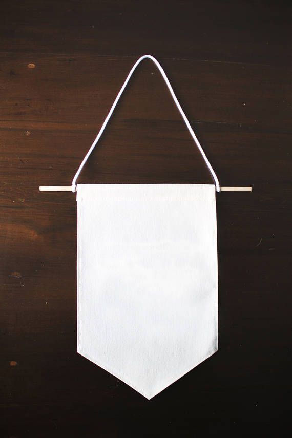 Blank canvas banner blank wall hanging banner diy wall for Diy blank canvas