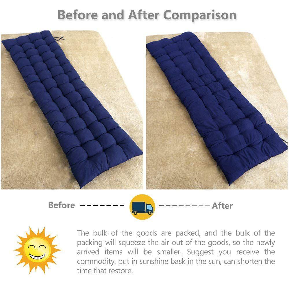 "Scorpiuse Soft Bench Cushions 59""x20"" Non"