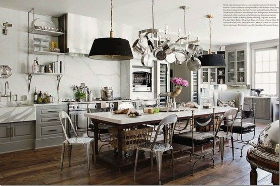 kitchens without islands   Island table, Kitchens and House