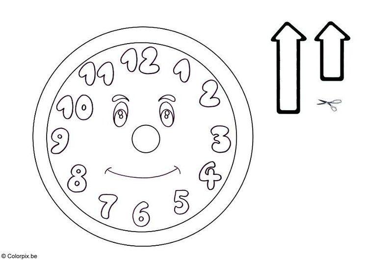 Uhr Malvorlagen 236 Malvorlage Uhr Ausmalbilder Kostenlos Uhr