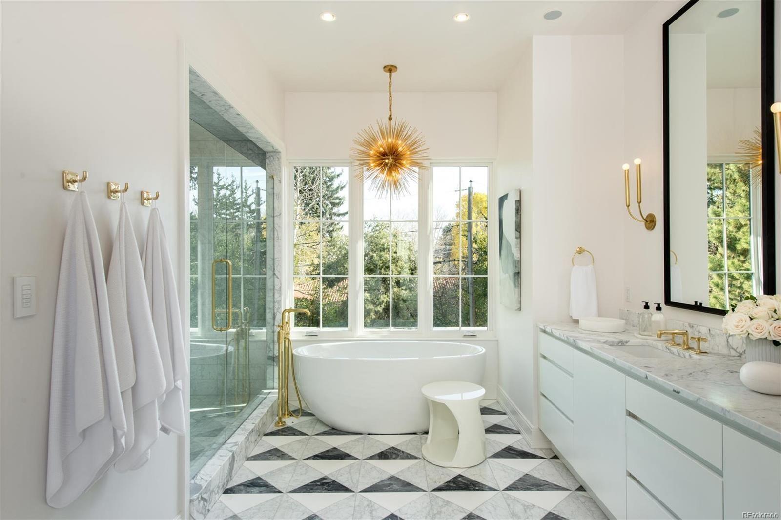 2017 Denver Designer Show Home. Master bathroom designed by Alvarez ...