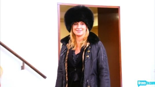 Sonja Morgan, ready for the winter