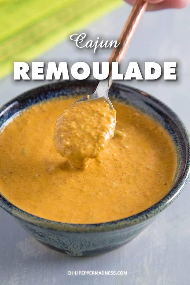 Cajun Remoulade Sauce #cajunandcreolerecipes