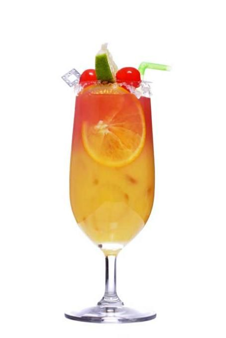 tail Sex on the Beach | Bowle, Limonade & Co. | Pinterest | Food Planters Punch Bowle Rezept on