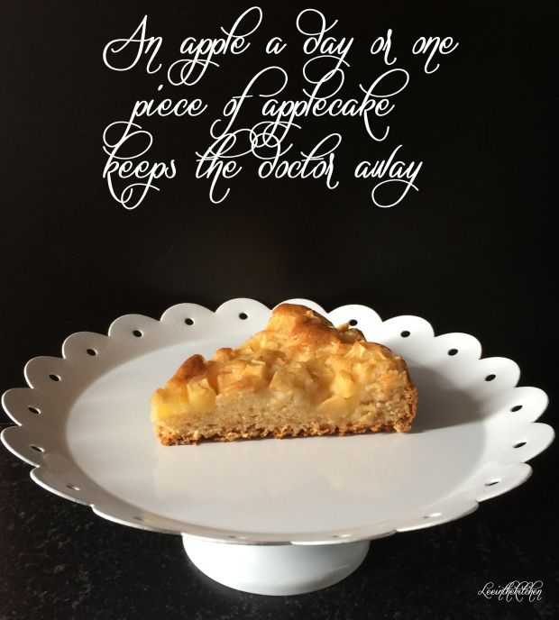 Simplest Vegan Apple Cake – Veganer Apfelkuchen