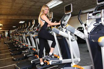 Edicion Nº 41 Revista Ve Gimnasio Body Master Modelo Pietrine Wazilewski Gym Stationary Bike Gym Equipment