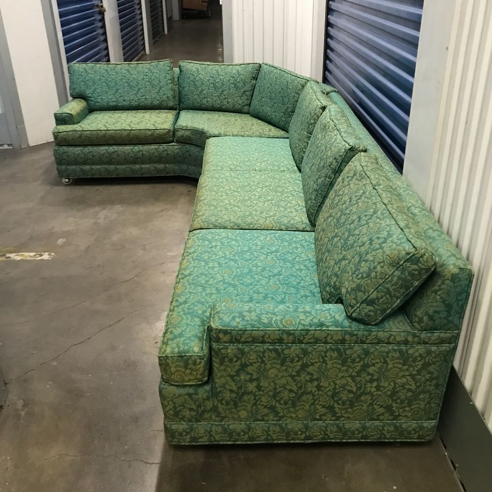 Vintage Mid Century Modern Sofa: Vintage Mid Century Modern SOFA Couch Sectional In 2019