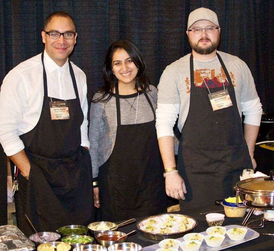 BSF serving it up at the Gourmet Food and Wine Expo 2014