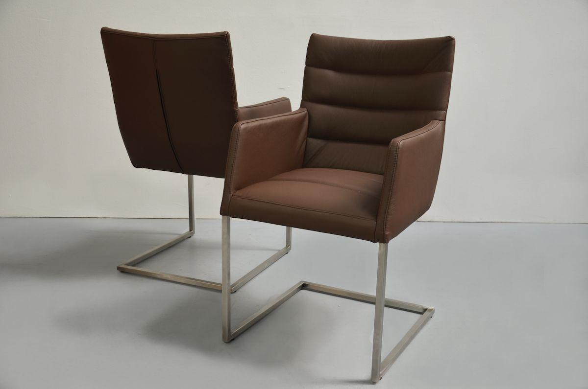 Malerisch Chesterfield Esszimmerstühle Sammlung Von Freischwinger Stuhl Mit Armlehnen Waves