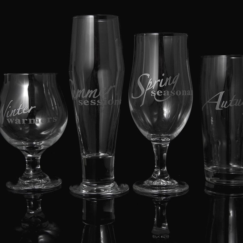 Superb Drink With The Seasons Glassware Set From Craft Beer Hound Barware