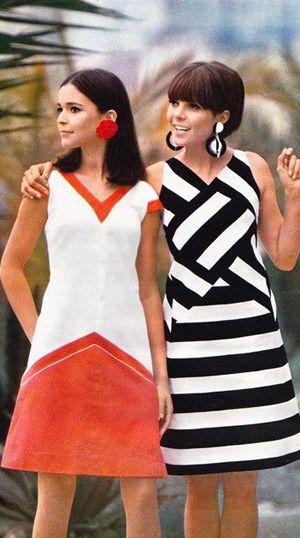 фото мода 60-х годов фото