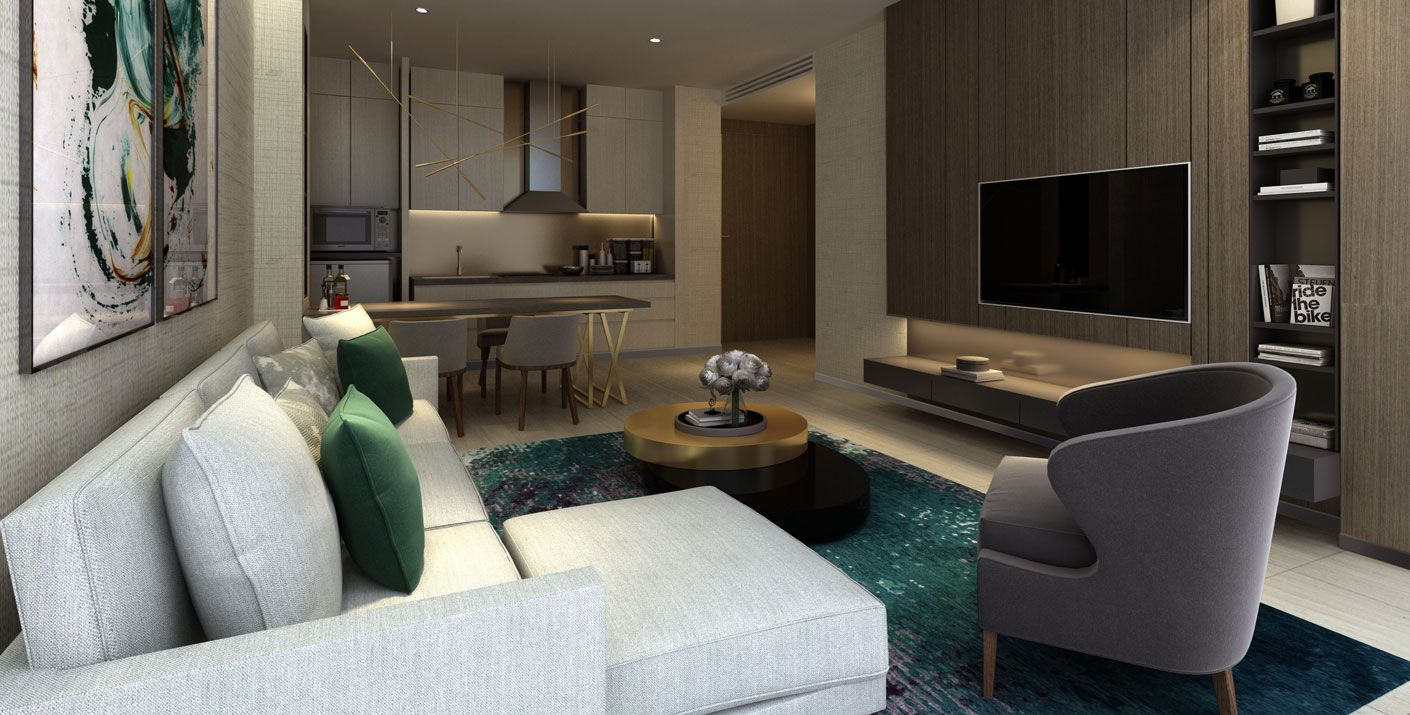 BLS Executive Apartments In Jeddah Saudi Arabia Designed By Studio HBA Embraced The