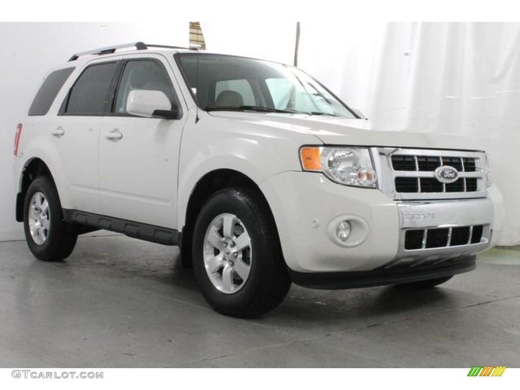 White Suede 2010 Ford Escape Limited V6 Exterior Photo 83664250