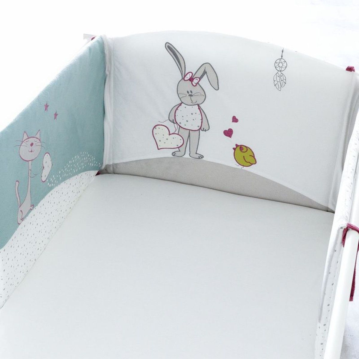 Tour De Lit Fille Accroch Coeur Products Tour De Lit Fille Tour De Lit Et Lit