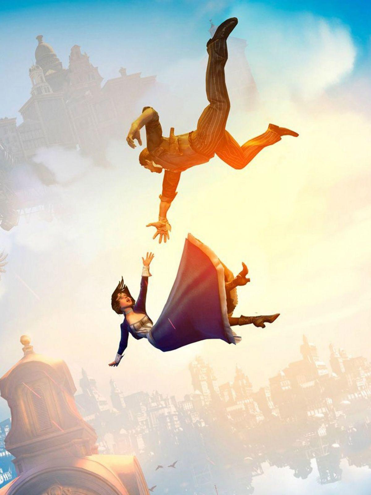 Animation Movie Bioshock Infinite Flying On The Sky Mobile Wallpaper Movie Animation Movie Bioshock Infinite Flyi Bioshock Infinite Bioshock Bioshock Art