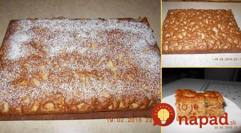 Výborný koláčik 2bb4fb32d30