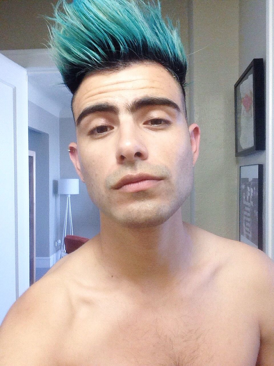 Pin By Adriano Ubence On Love Is In The Hair Dyed Hair Blue Boys Colored Hair Men Hair Color