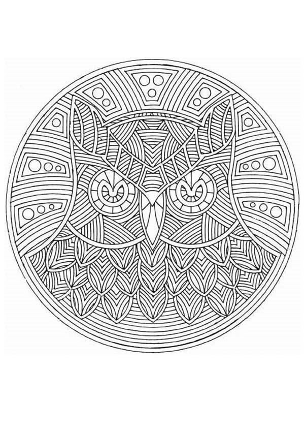 Mandala 40 worksheet | Coloring Pages | Pinterest | Mandalas ...