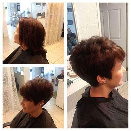 30 short straight hairstyles and haircuts for stylish