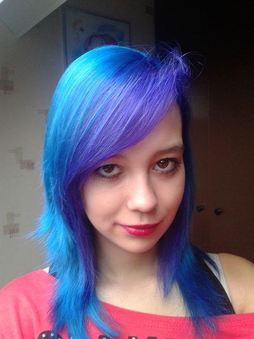 Kim S Blue Hair Blue Purple Hair Dyed Hair Blue Dyed Hair