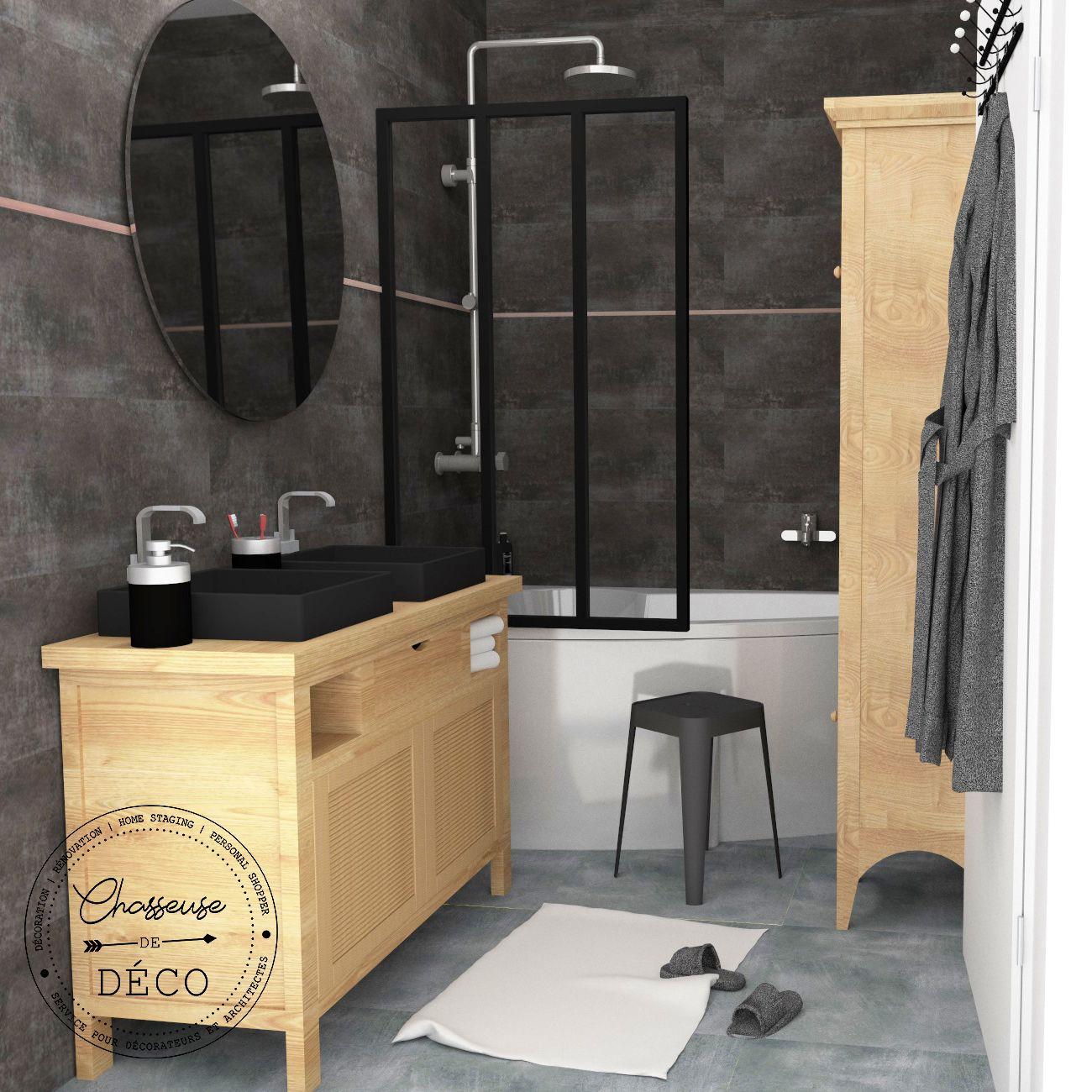 Appartement à Eze (Alpes-Maritimes) Une petite salle de bain