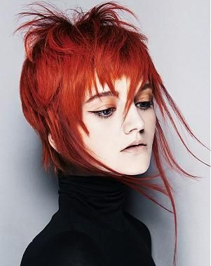 A Medium Red Hairstyle From The Urban Chic Collection By
