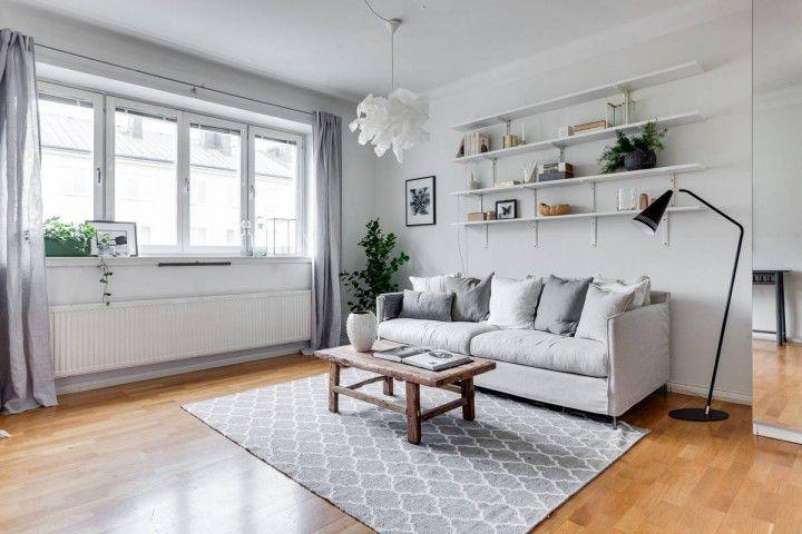 estilo nórdico escandinavo distribución diáfana decoracion pisos