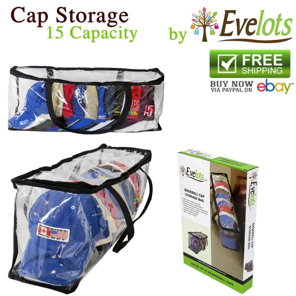 Pvc Case Baseball Cap Storage Bags Hats Racks Safety Closet Organizers Clothing Bag Storage Baseball Caps Storage Clothes Organization