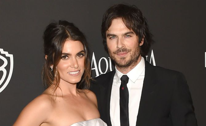 Nikki Reed Marries Ian Somerhalder #nikkireed #iansomerhalder #wedding #celebrity