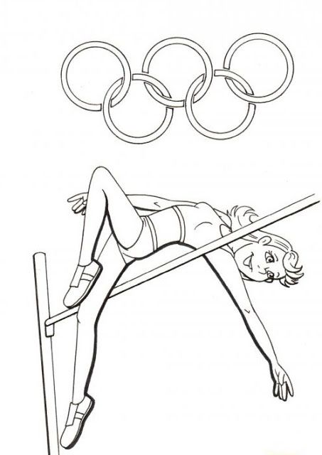 olympic games coloring pages google