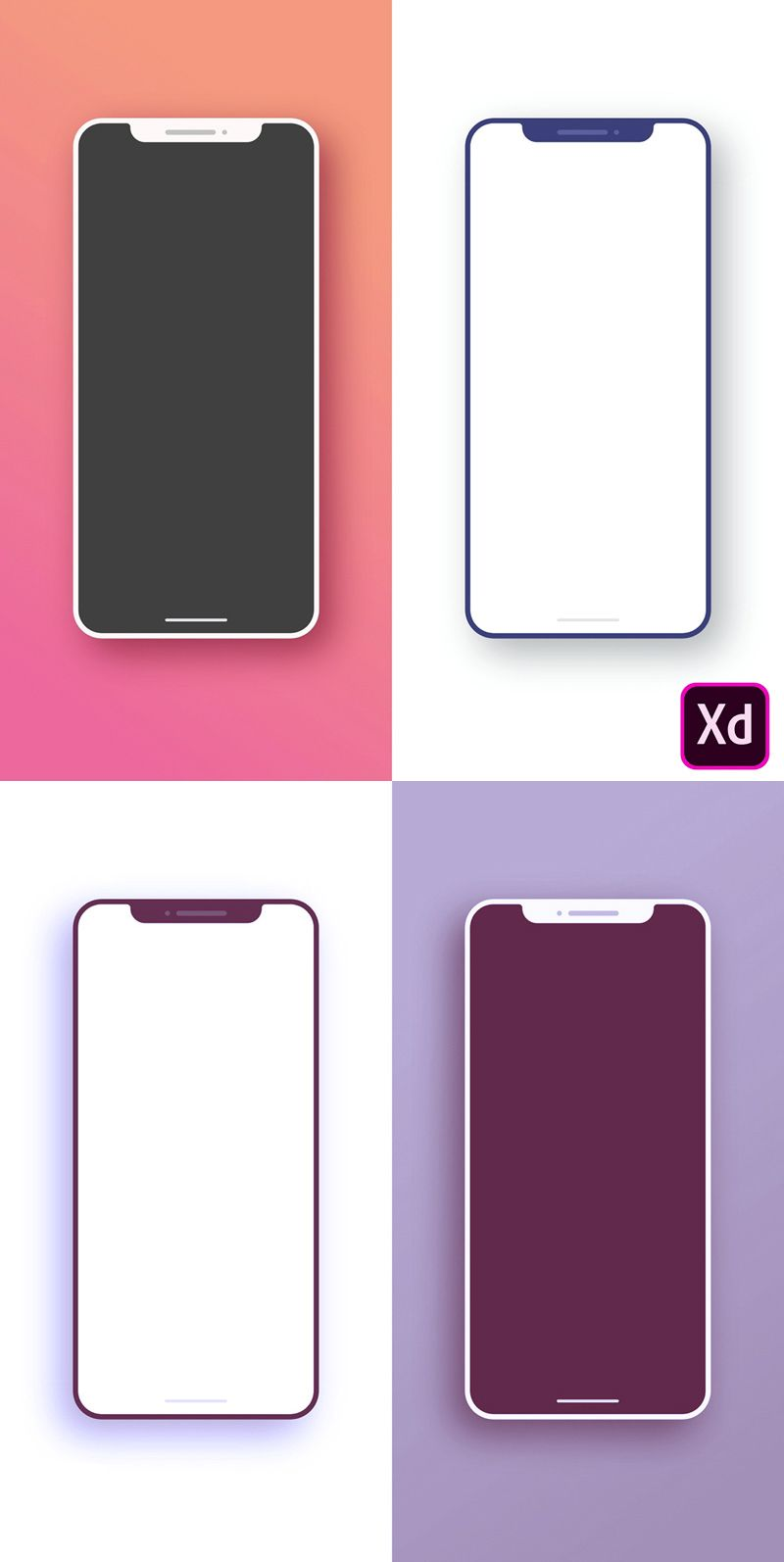 Simple And Iphone X Mockups Mobile Mockup Iphone Iphone X