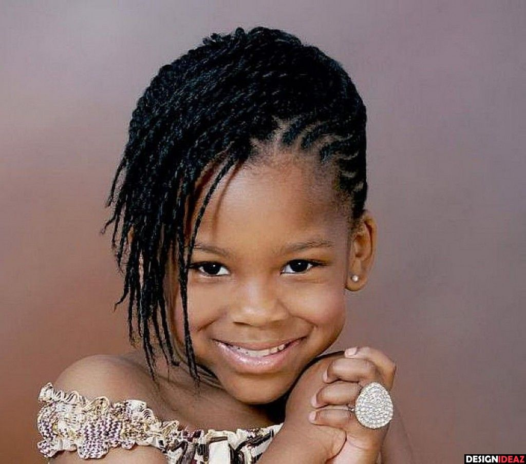 5 Cute Black Braided Hairstyles for Little Girls2 | RIley hair ...