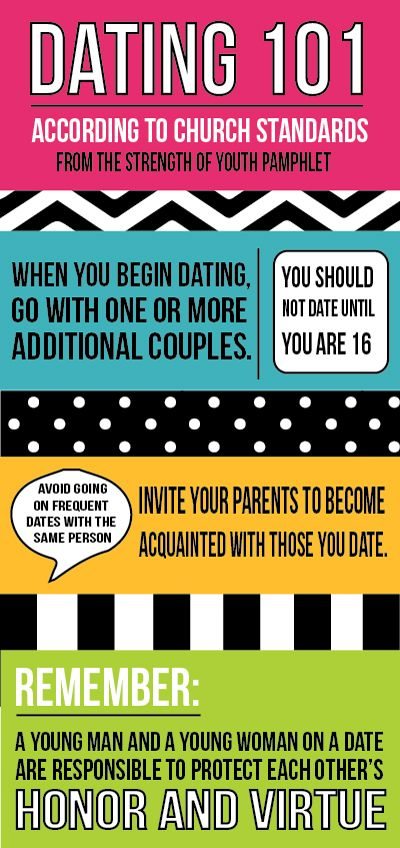 Guidelines for teen dating