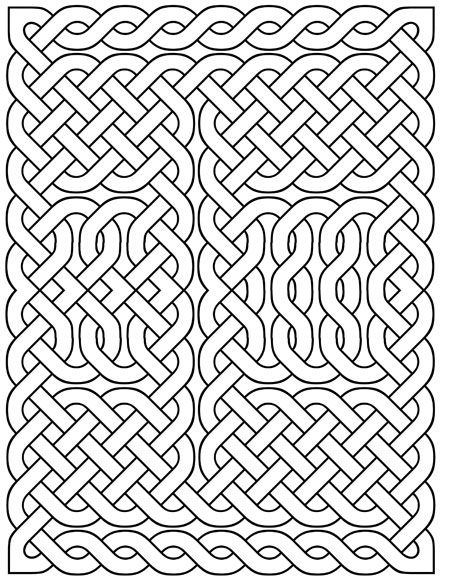 Printable Celtic Knots October Literary Spring Designs Celtic Coloring Geometric Coloring Pages Celtic Patterns