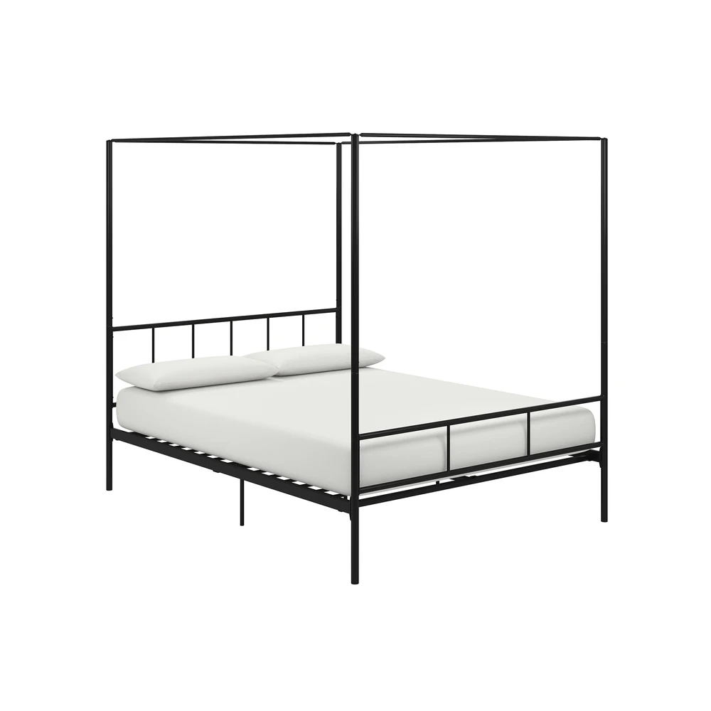Marion Canopy Bed In 2020 Bed Frame And Headboard Headboard And