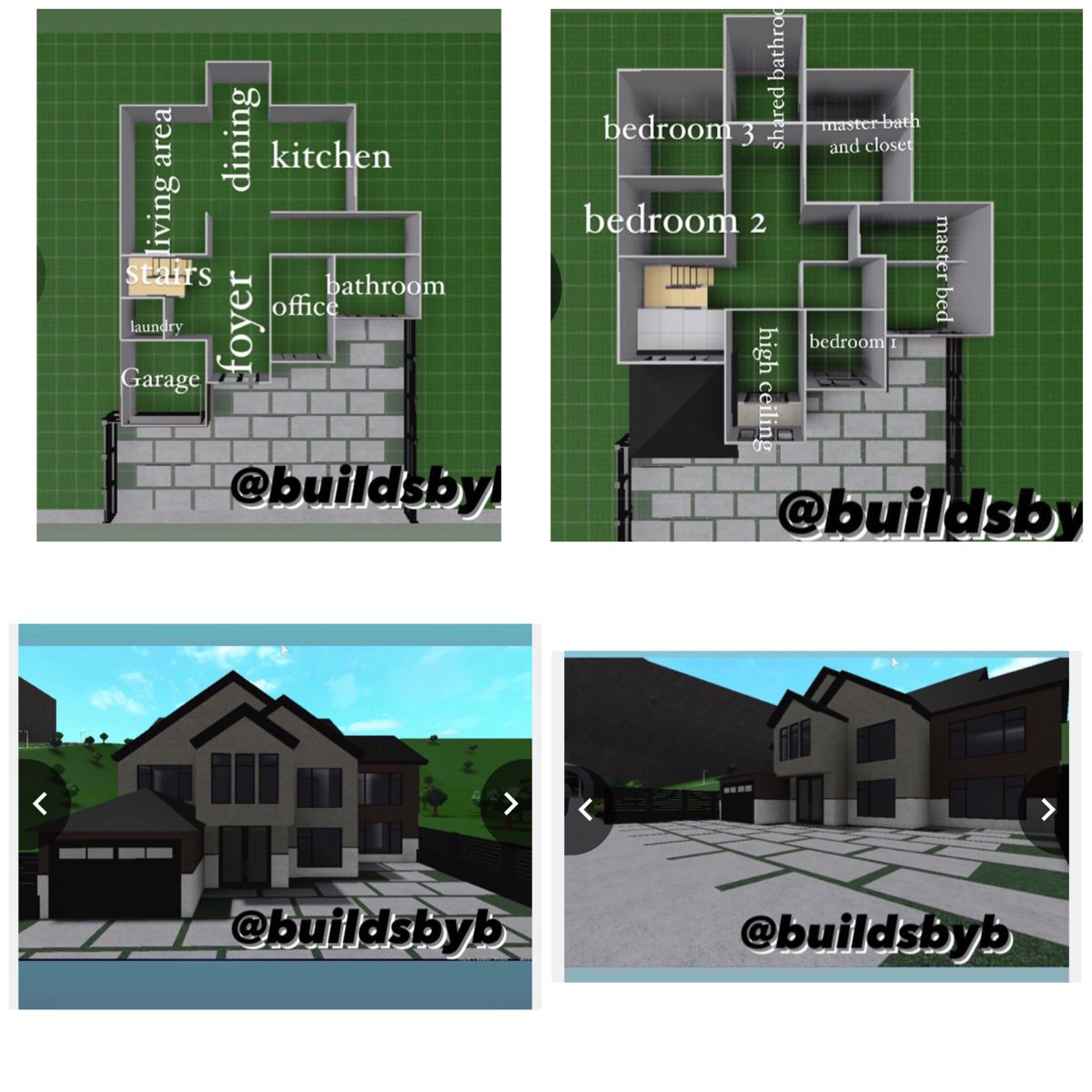 Pin By Willow Ramsey On Bloxburg House Ideas In 2020 Sims House Design House Layout Plans Two Story House Design
