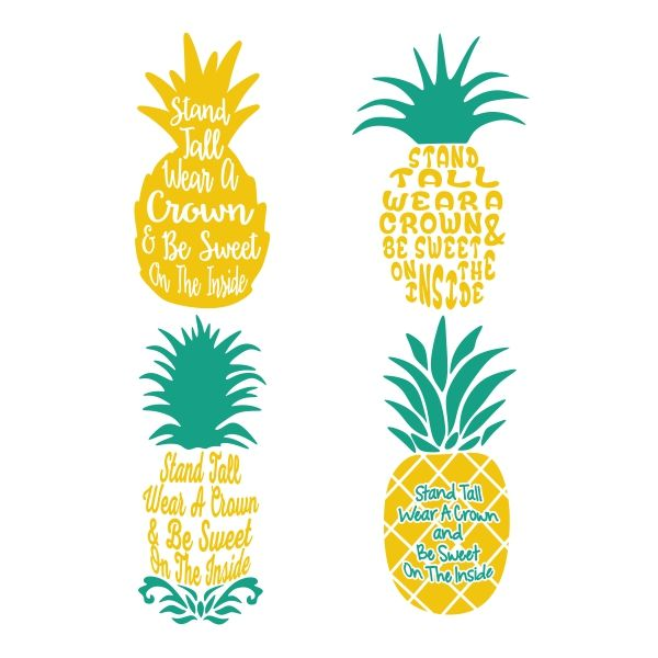 Download Pineapple Cuttable Design | Cricut crafts, Cricut ...