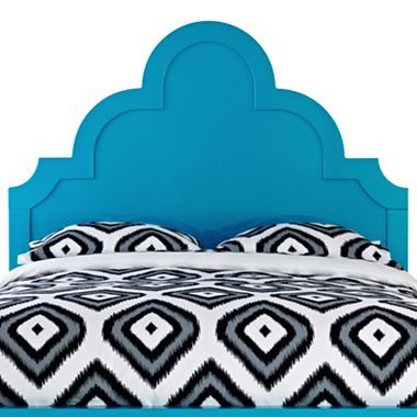 Happy Chic by Jonathan Adler Crescent Heights Lacquer Headboard ...