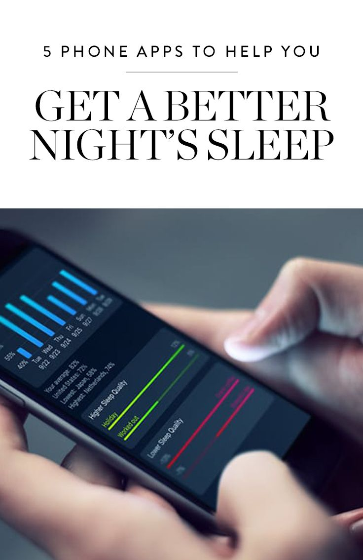 5 phone apps to help you get a better night's sleep | healthy living