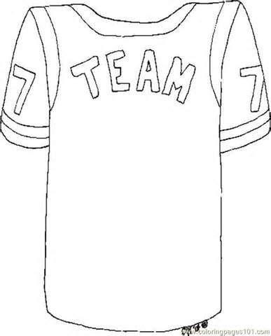 Basketball Jersey Coloring Templates Coloring Pages Nfl Football