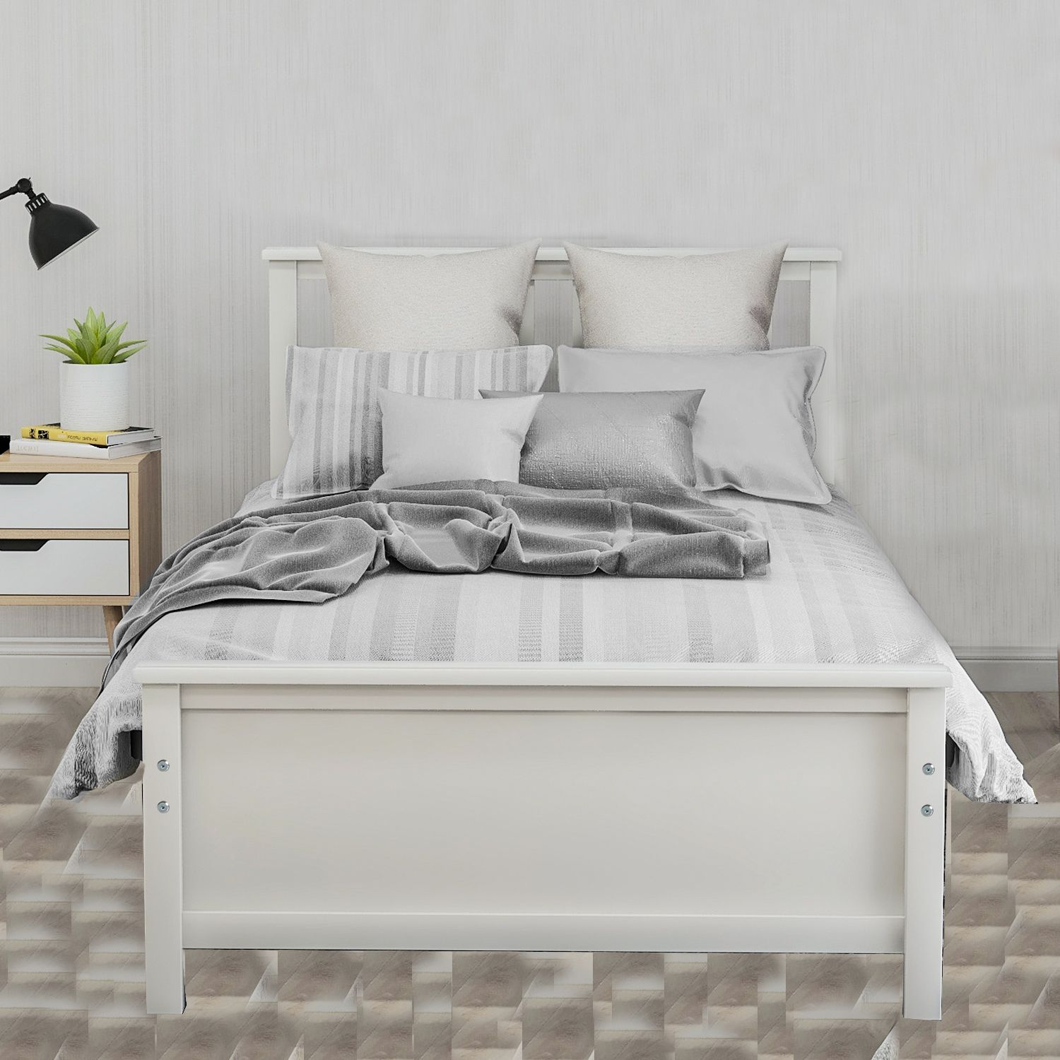 Home In 2020 Bed Frame And Headboard Twin Platform Bed Frame