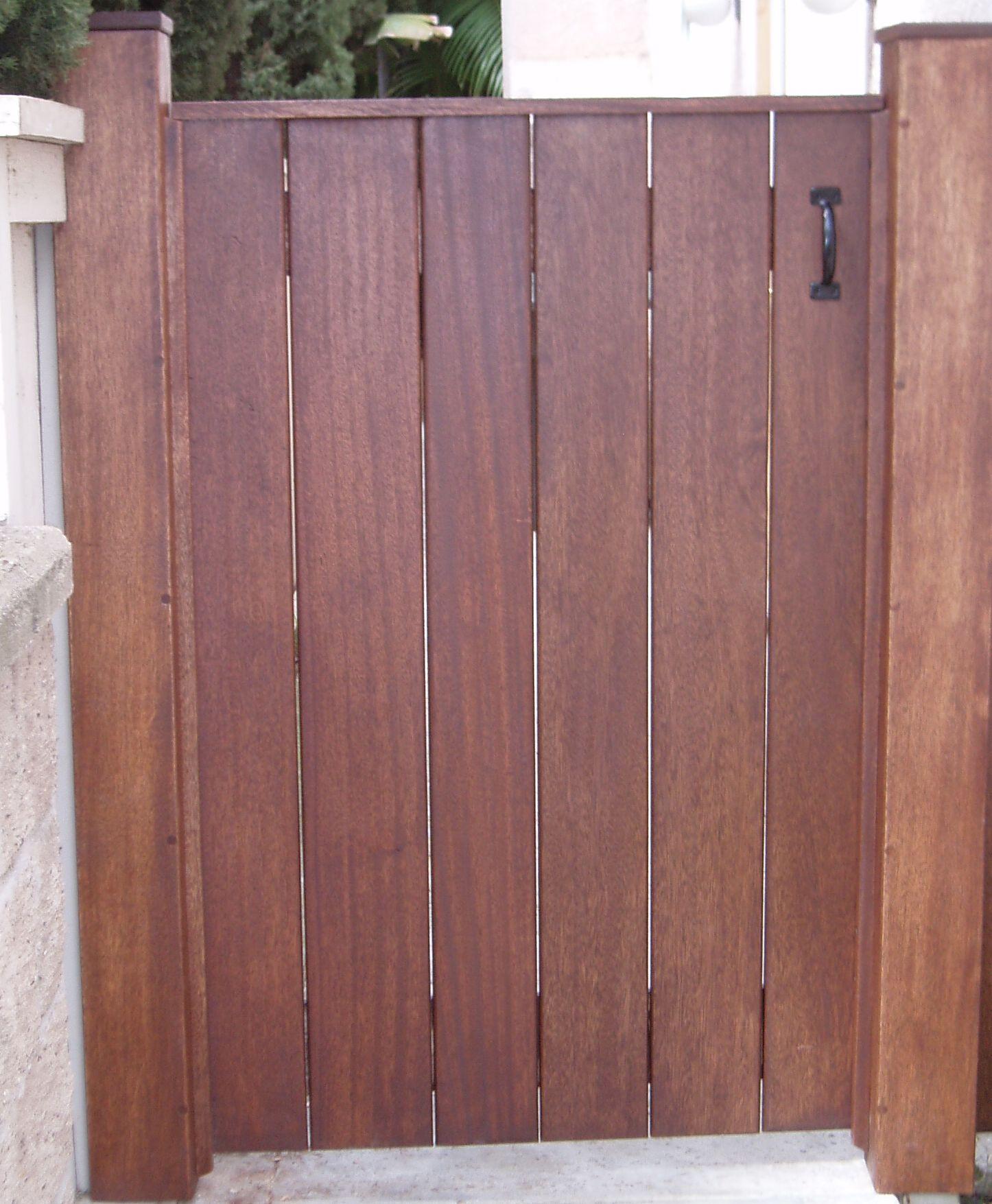 James custom wood gates home pinterest patios - Puertas para porches ...