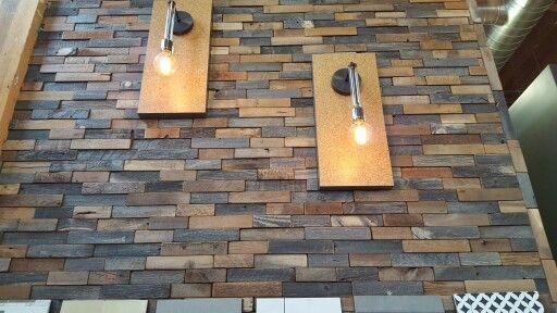 Wall At Macadam Flooring.