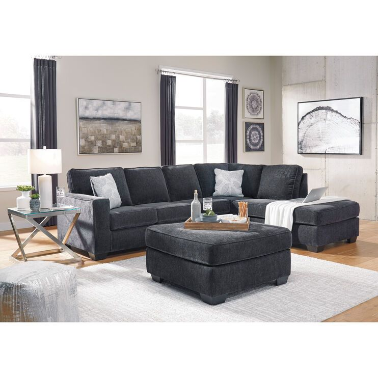 Riles Right Chaise Sectional Living Rooms Slumberland In 2020 Living Room Sectional Living Room Color Schemes Gray Sectional Living Room #slumberland #living #room #sets