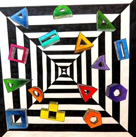 Op Art Projects For Middle School
