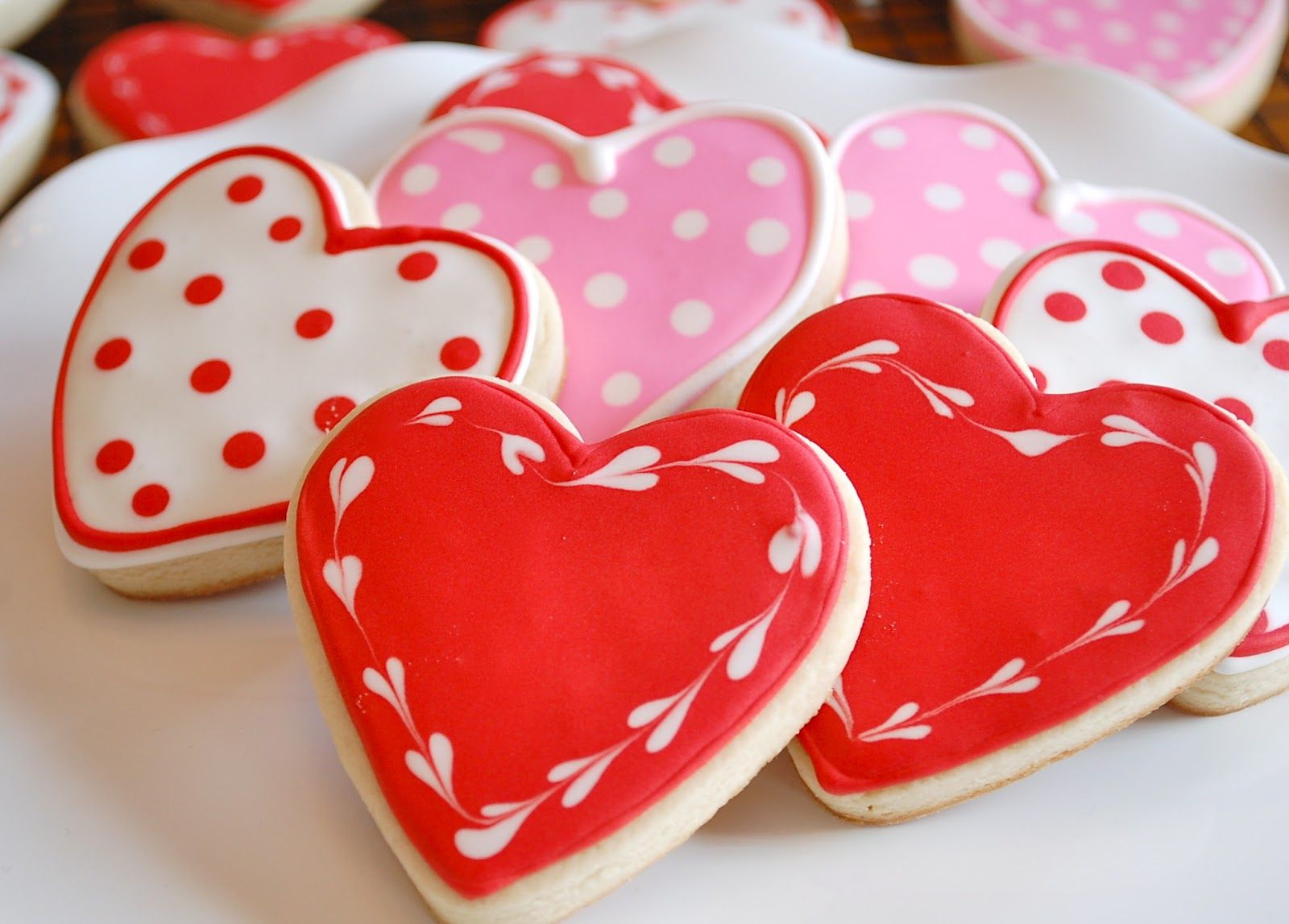 Explore Valentine Cookies, Valentines Day Hearts, And More!