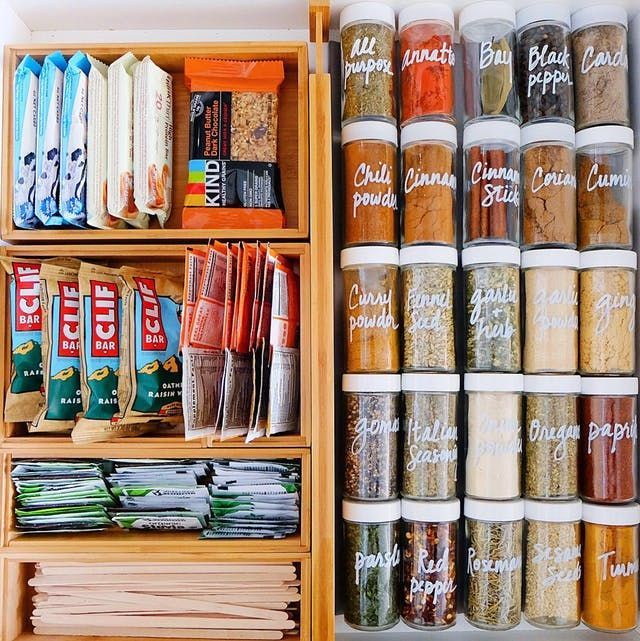 So organisieren Sie Ihre Speisekamm…